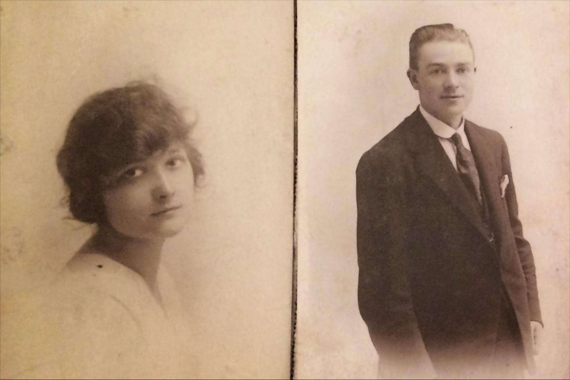 Sheila's parents - Alice Maxfield and Walter Cox
