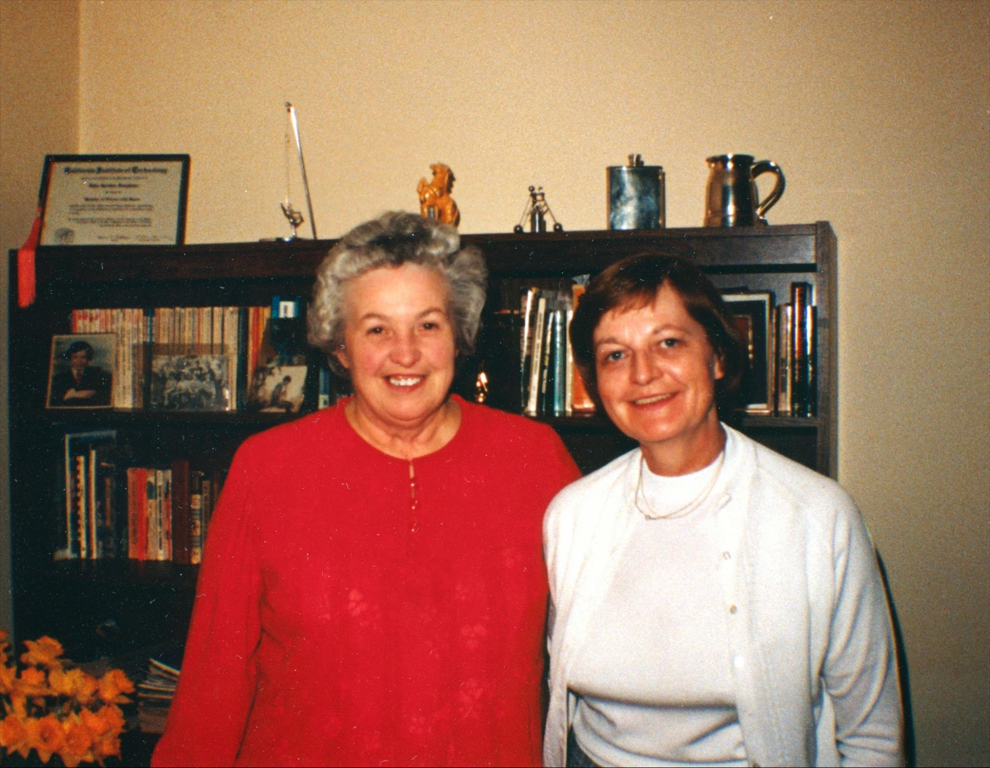 Mom and Joan Cox